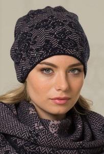 Тёплая женская шапка Landre Рига