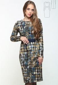 Платье из трикотажа Issi Bravissimo 162533