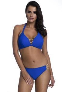 Синий купальник со шнуровкой Primo 422/4