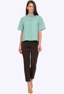 Купить женские брюки слегка зауженные к низу в интернет-магазине недорого Emka D-021/asel