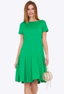 Платье зеленого цвета Emka Fashion PL-473/sabina