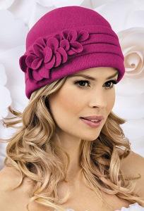 Элегантная женская шапка из шерсти Landre Fran