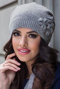 Женская шапка с закрепкой сзади Kamea Molly2
