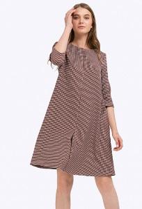Платье А-силуэта из вискозы Emka PL726/lala