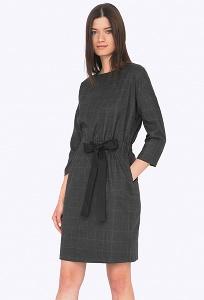 Платье со спущенной линией плеча Emka PL750/rolanda