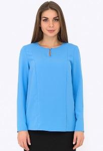 Голубая блузка Emka Fashion b 2201/afifa