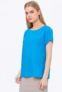 Летняя блузка бирюзового цвета Emka b 2245/marisa
