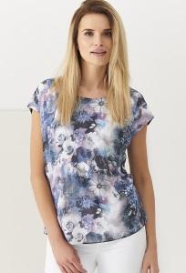 Летняя блузка с цветочным принтом Sunwear Q30-2-15