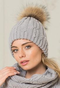 Женская шапка из шерстяной пряжи Landre Роберта