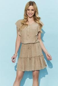 Лёгкое короткое летнее платье Zaps Candra