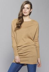 Шерстяное платье песочного цвета Zaps Julie