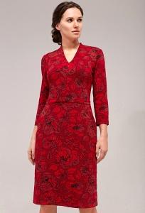 Платье TopDesign B7 108 (коллекция осень-зима 2017/2018)