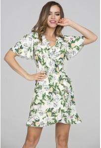 Коктейльное платье с V-вырезом Donna Saggia DSP-325-90