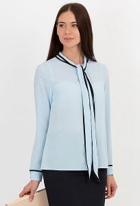 Блузка с воротником-галстук Emka Fashion b 2135/cameron