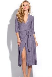 Сиреневое платье Donna Saggia DSP-239-52t
