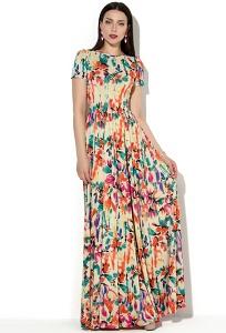 Длинное в пол летнее платье Donna Saggia DSP-147-22t