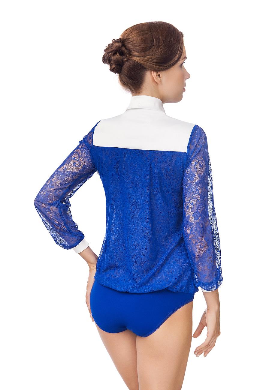 Купить кружевную блузку боди в
