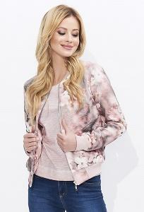 Розовая женская куртка-бомбер Zaps Jovita