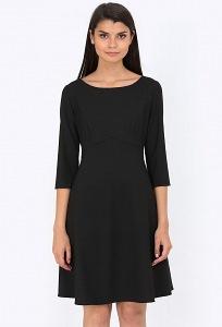 Чёрное платье Emka Fashion PL-532/almaza