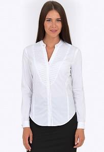 Белая женская рубашка Emka Fashion b 2190/vonda