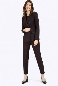 Классические брюки длиной 7/8 Emka D115/adain