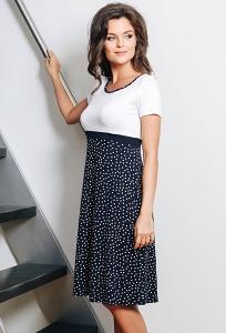 Летнее платье с завышенной талией TopDesign A7 059