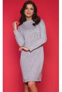 Светло-серое платье Zaps Mirell