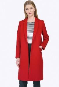 Ультрамодное яркое пальто Emka R026/lalis