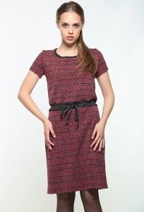 Платье в короткими рукавом Bravissimo 162553