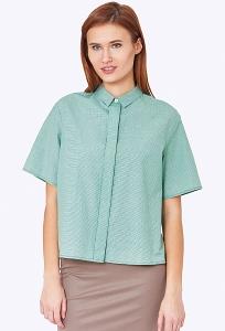 Женская рубашка свободного кроя Emka b 2211/marselina