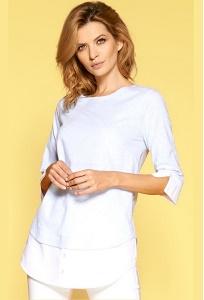 Удлиненная женская блузка Zaps Linea