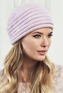 Женская шапка розовогоцвета Landre Агат