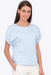 Блузка с цельнокроеным рукавом Emka b 2226/hadya