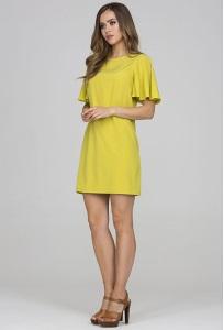 Коктейльное платье цвета лайм Donna Saggia DSP-318-88