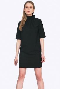Платье со сборкой по горловине Emka PL-663/lenora