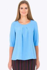 Голубая блуза Emka Fashion b 2197/afifa