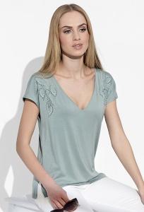Блузка с V-образным вырезом Sunwear I10-2