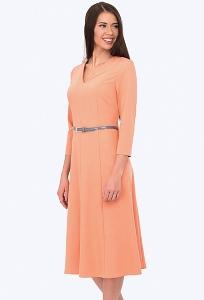Платье-футляр длинной миди Emka Fashion PL-564/trini