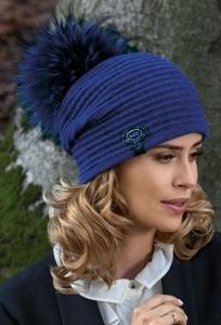 Женская шапка с помпоном Willi Hale