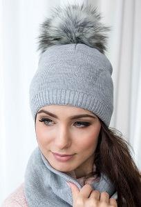Тёплая женская шапка Veilo 50.51-12