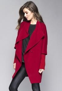 Женское пальто красного цвета Zaps Abbie