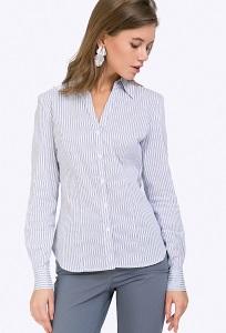 Полосатая блузка с длинными рукавами Emka B2336/adelfina