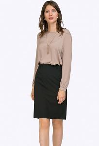 Минималистичная черная юбка Emka S656/marco
