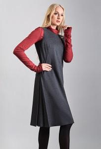Платье без рукавов TopDesign B8 012