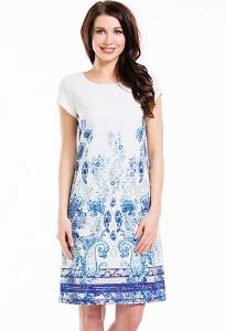 Летнее платье из хлопка Remix 7328