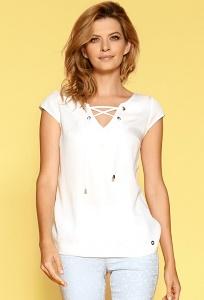 Женская блузка со шнуровкой Zaps Mallena