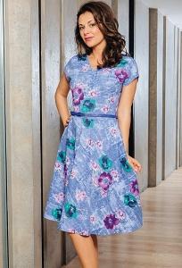 Летнее романтическое платье TopDesign A7 129