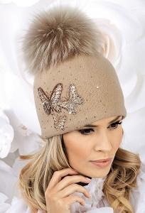 Шерстяная шапка с помпоном Willi Modesta