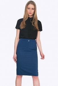 Синяя юбка Emka S719/libra