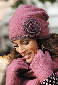 Шапка розового цвета Kamea Pepita